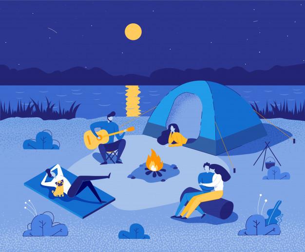 Create content campfires