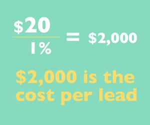 Mortgage broker lead calculation